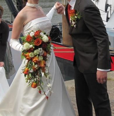 bruidsboeket Jacqueline en Jeroen